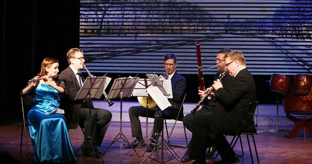 Vietnamese, Finnish artists join together in Hanoi concert hinh anh 1