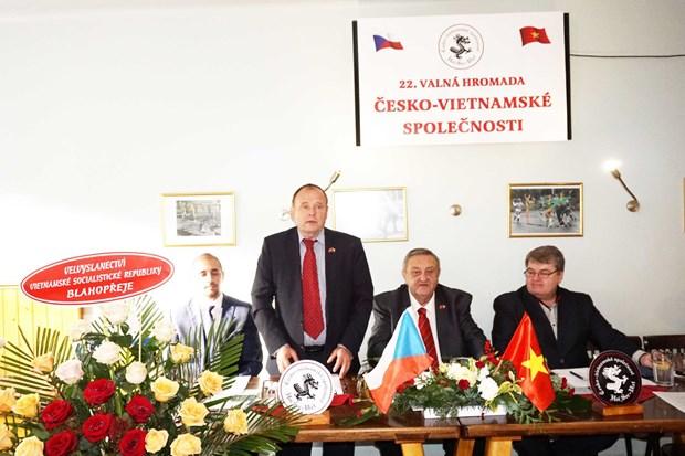 Czech-Vietnam Friendship Association holds 22nd congress hinh anh 1