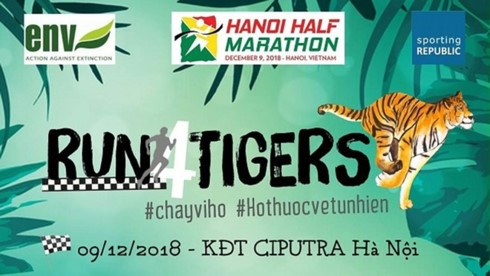 """""""Run for Tigers"""" 2018 draws over 750 runners hinh anh 1"""