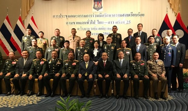 Thailand, Laos agree on border security hinh anh 1