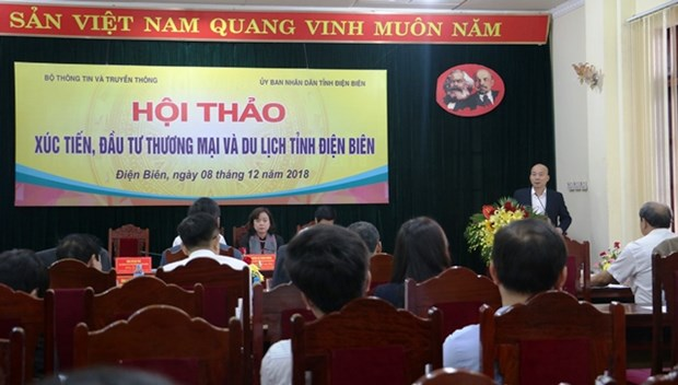 Dien Bien conference seeks to promote trade, tourism hinh anh 1