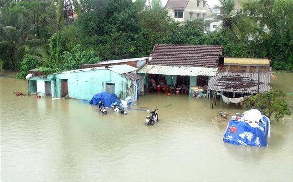 Floods in central region leave two dead, three missing hinh anh 1