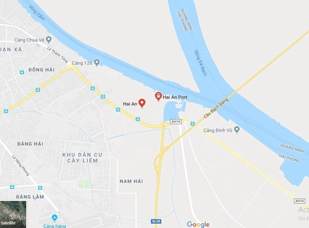 Foreign sailor dies upon arrival in Hai An port hinh anh 1