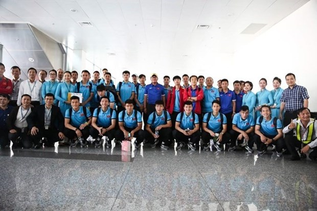Vietnam Airlines to carry Vietnamese football team on A350-900 hinh anh 1