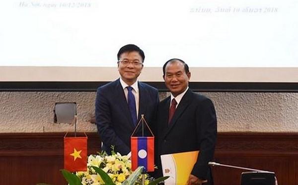Vietnam, Laos boost judicial cooperation hinh anh 1