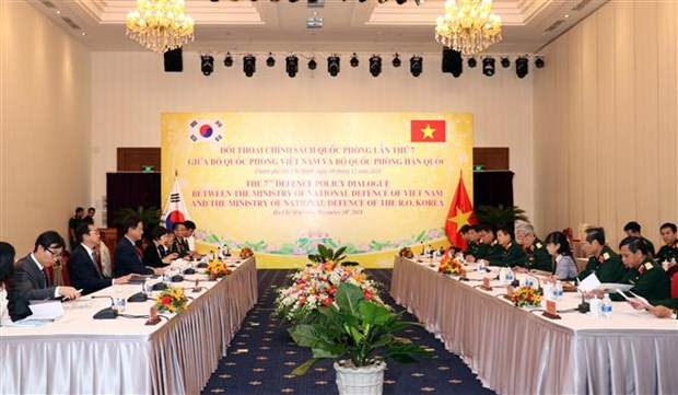 Vietnam, RoK hold seventh defence policy dialogue hinh anh 1