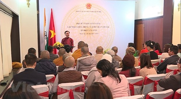 Vietnamese expats in India, Nepal meet to discuss life issues hinh anh 1