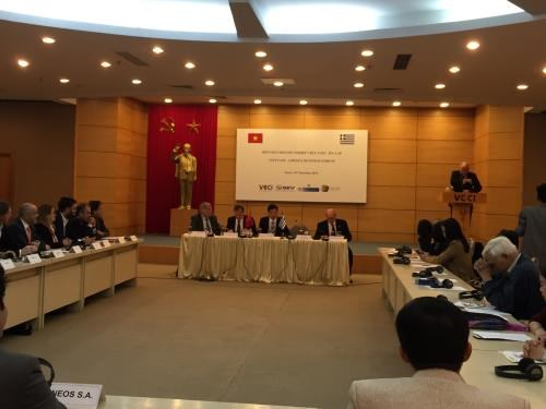 Vietnamese, Greek enterprises urged to foster trade partnership hinh anh 1