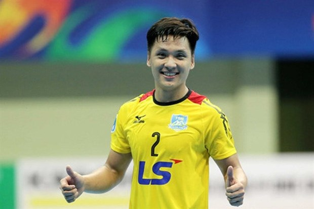 VN's goalie nominated for world's top futsal goalkeepers hinh anh 1