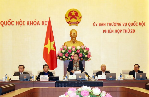 NA Standing Committee concludes 29th meeting hinh anh 1
