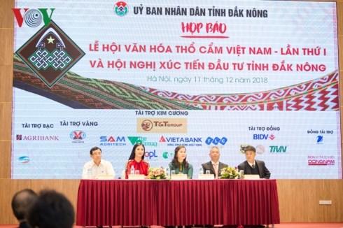 Dak Nong to host first Vietnam brocade festival hinh anh 1