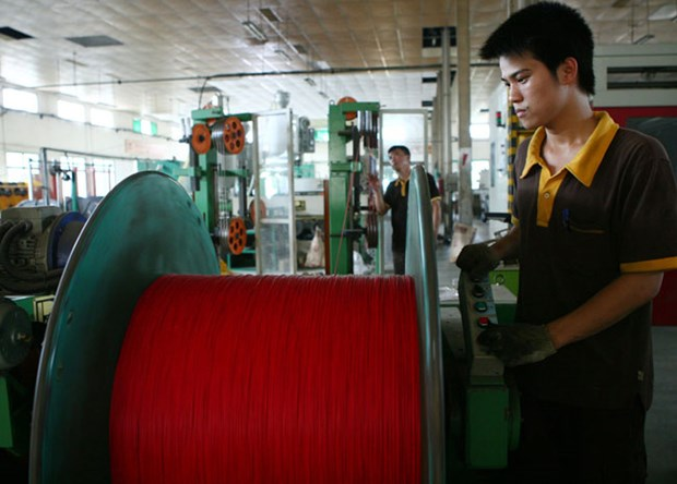 Export of electric wire, cable surges hinh anh 1