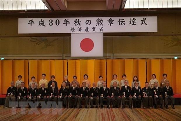 Outstanding overseas Vietnamese in Japan honoured hinh anh 1