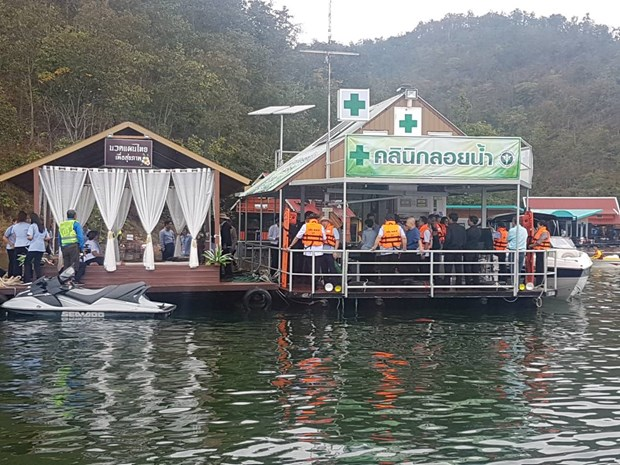 Thailand unveils first floating clinic hinh anh 1