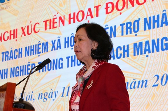 Conference calls for joint efforts in humanitarian activities hinh anh 1