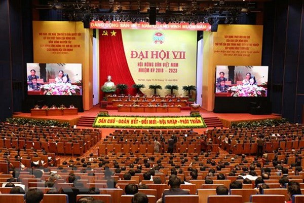 Vietnam Farmers' Union convenes seventh Congress hinh anh 1