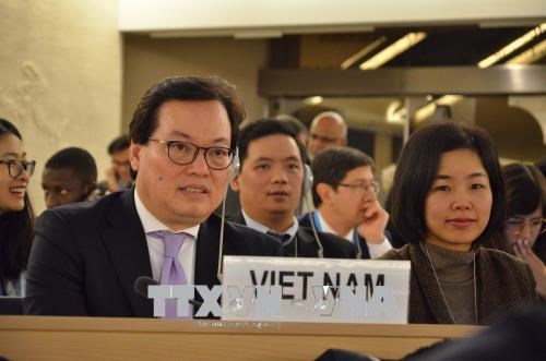 Vietnam displays int'l responsibility for ensuring human rights hinh anh 1