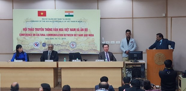 Vietnam, India seek ways to promote cultural communication hinh anh 1