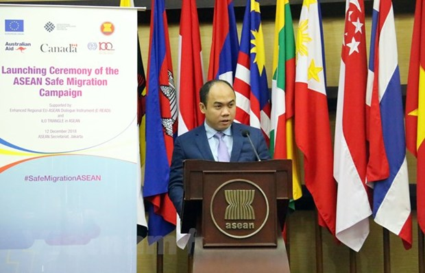 ASEAN pays attention to interests of migrant workers hinh anh 1