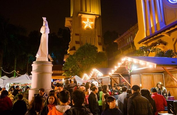 Cua Bac Church to host Christmas market and concert hinh anh 1