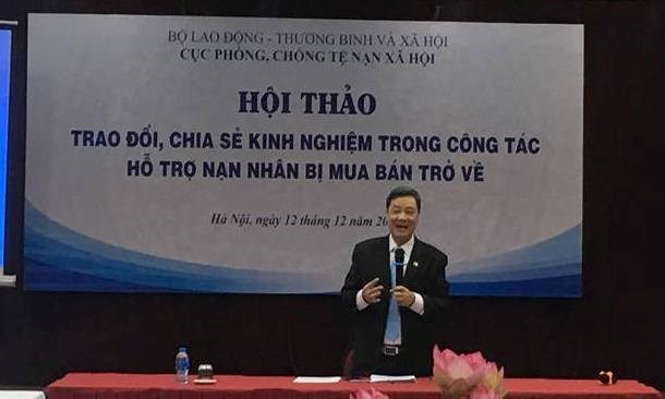 Returnee victims of human trafficking get support hinh anh 1