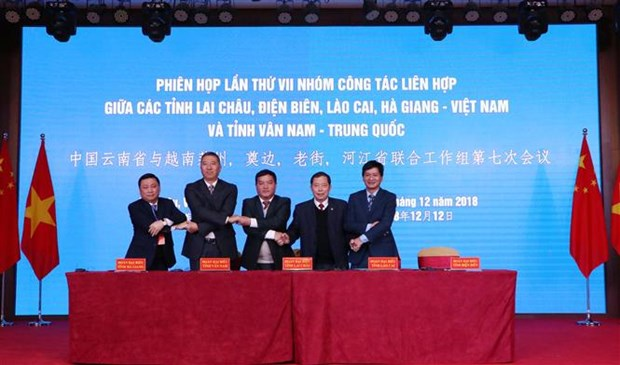 Vietnamese border localities strengthen ties with China's Yunnan province hinh anh 1