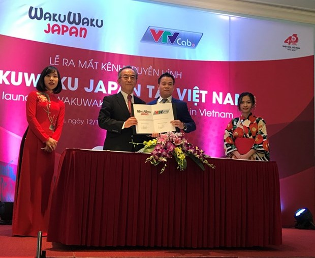First Japanese TV channel launched in Vietnam hinh anh 1