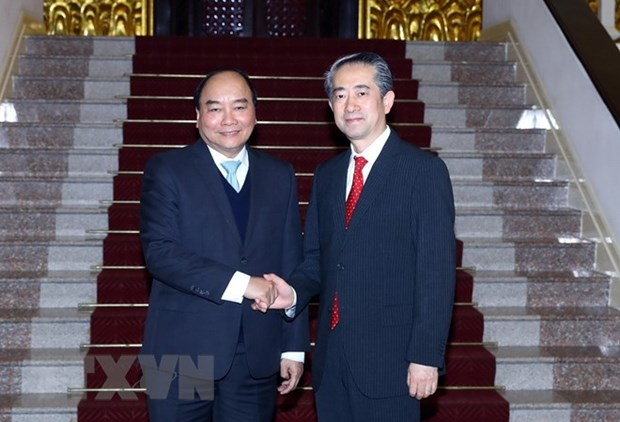 PM welcomes newly-appointed Chinese, Danish ambassadors hinh anh 1