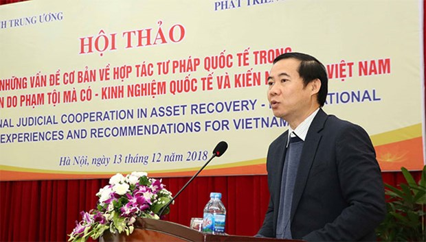 Int'l judicial cooperation in criminal asset recovery discussed hinh anh 1