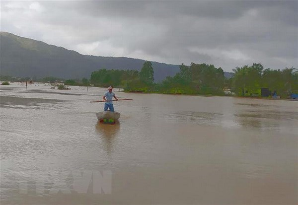 Floods kill six, submerge over 10,100 houses in Binh Dinh hinh anh 1