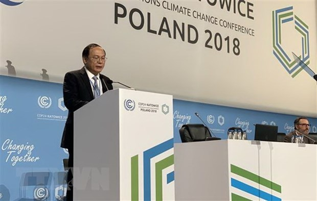 Vietnam calls on countries to unite in climate change response hinh anh 1