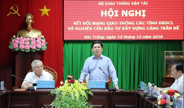 Better transport connectivity needed to drive Mekong Delta's development hinh anh 1