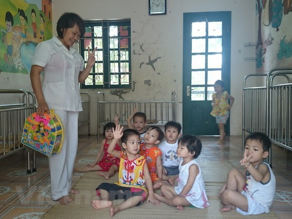 Alternative care given to orphaned children in Thai Nguyen hinh anh 1