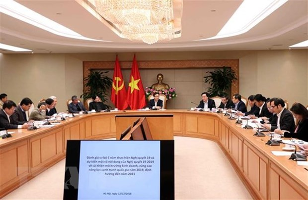 Measures sought to raise efficiency of competitiveness improvement hinh anh 1