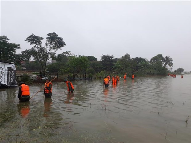 VFF extends sympathies to flood victims in central region hinh anh 1