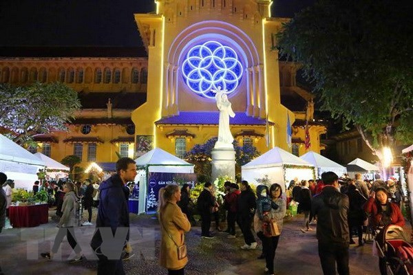 VFF leader extends Christmas greetings to Christians nationwide hinh anh 1
