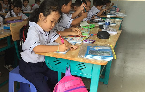 Dong Nai strengthens Vietnamese teaching to pre-school, primary students hinh anh 1
