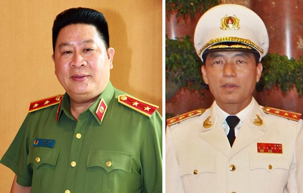 Criminal proceedings against former Public Security officers hinh anh 1