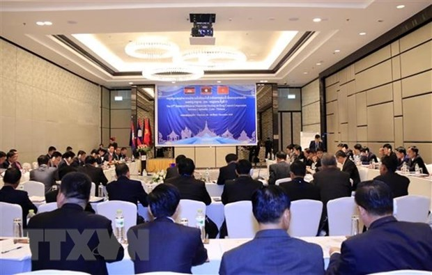 Vietnam, Laos, Cambodia hold court conference hinh anh 1