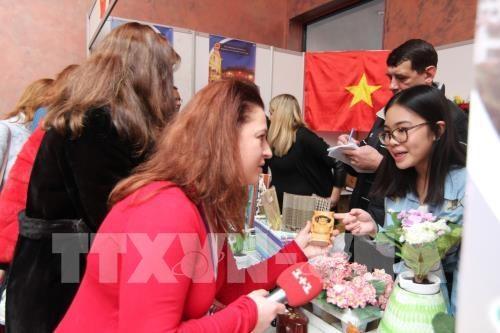 Vietnamese farm produce showcased at Ukrainian Food Expo hinh anh 1
