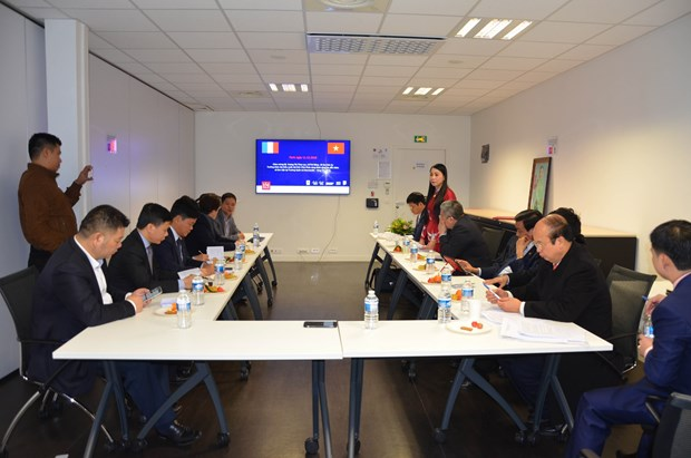 Vietnamese province seeks cooperation opportunities in France hinh anh 1