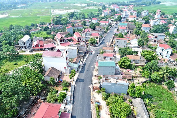 Bac Giang has first new-style rural district hinh anh 1