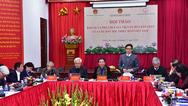 Preservation of ethnic minorities' culture – an urgent task: workshop hinh anh 1
