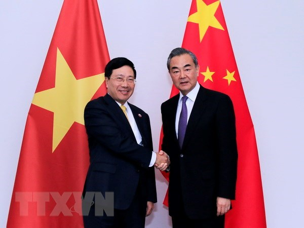 Foreign Ministers of Vietnam, China hold talks in Laos hinh anh 1