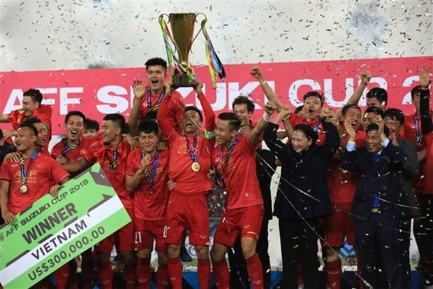 Vietnam's AFF Suzuki Cup triumph makes international headlines hinh anh 1