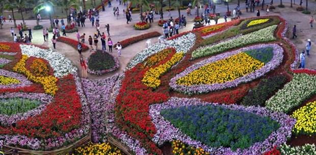 Amazing International Flower Festival opens in Thailand's Khon Kaen hinh anh 1