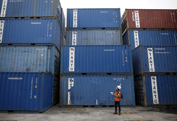 Indonesia posts largest trade deficit in five years hinh anh 1