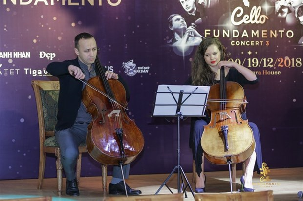 Int'l artists to gather in Hanoi for Cello Fundamento Concert hinh anh 1