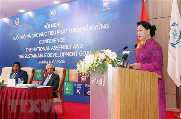 Vietnamese NA working for sustainable development: Chairwoman hinh anh 1