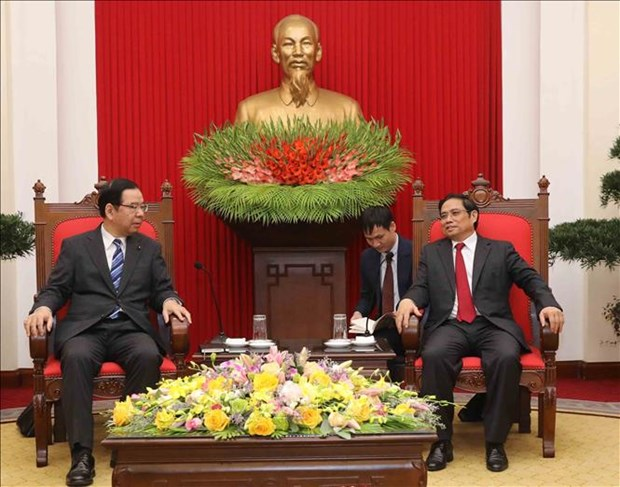 Party official hails visit by Japanese Communist Party leader hinh anh 1